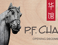 P.F. Chang's - Hoarding Signage