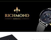 Logo design for Richmond Watches