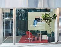 SEVENTY STUDIO / Denim brand, interior, Branding