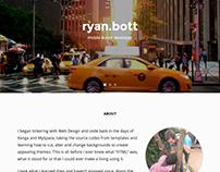 Ryan Bott - 2015 homepage