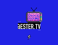 Ester.TV Website Design