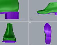 3D Lasts & Outsoles