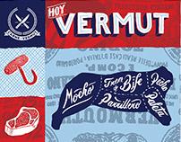 Cinzano, Carne y Vermut