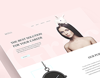 Mona | Web Design & Art Direction
