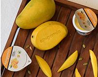 Epigamia Greek Yogurt Hygiene Concept+Visualisation II