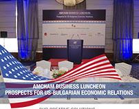 AmCham Business Luncheon Event Design