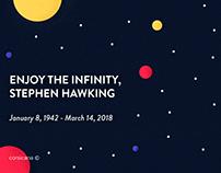 Stephen Hawking | Illustration