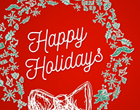 Texas Tech Holiday Animation