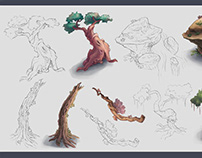 Plant Concepts for Worldbuilding