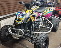 Can-Am ATV wrap