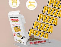 Pizza Centro Rebranding | Social Media