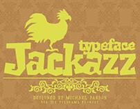 Jackazz typeface (feat. Chickenz & Framez)