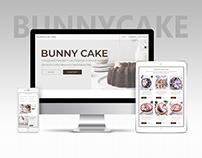 BunnyCake Landing Page