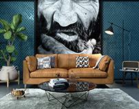 Sofa shot