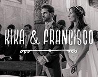 Papelería para Boda de Kika & Francisco