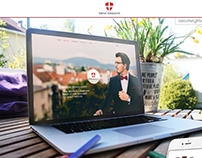 Swiss Heights - web design