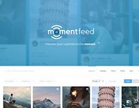MomentFeed Web App