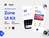 Zone UI Kit - 100+ screens article & blog app UI Kit