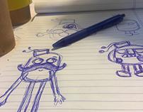 K3keh Character Design