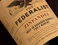 The Federalist (Terlato Wines) Design & Logo
