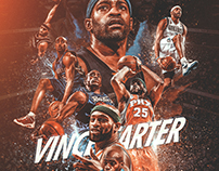 NBA Art | Vince Carter Project