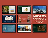 Museos Campeche / interactivos digitales