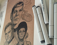Star Trek Beyond & 50th anniversary posters