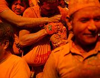 Sindoor festival in Nepal