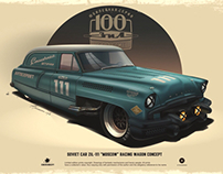 "ZIL-111 "" Moscow "" racing wagon concept"