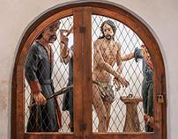 San Romedio - interni