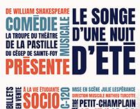 Affiches de théâtre