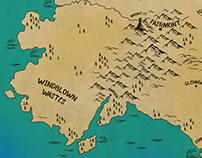 "Map Illustration for ""Looking For Dei"""