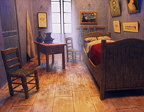 Vincent van Gogh homage