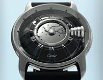 "CARTIER watch ""L'envers du décor"" ( horology design )"