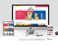 Build A Bear Website Design Interface