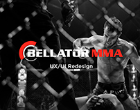 BELLATOR MMA - UX/UI
