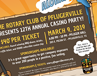Rotary Club of Pflugerville: Casino Party 2019