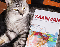 """""""Saanman"""" Book Cover Illustration"""