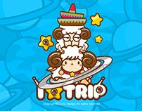 Monster Traveler illustration design - Time Traveler
