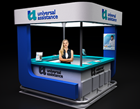 Stand | Booth Design: Universal Assistance