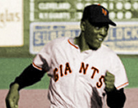 COLORIZATION: 1954 Willie Mays (2013)
