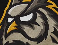 Mascot Logo - Owls