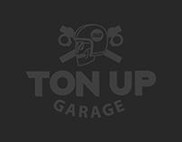 TON UP GARAGE logo