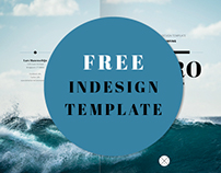 Free InDesign Template - Trifold Brochure