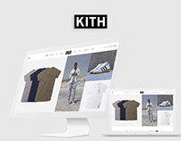 KITH E-Commerce Responsive Website Design UI/UX