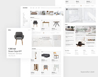 Концепция интернет-магазина мебели