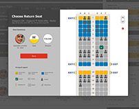 GetGo Dynamic Seat Booking -Design and flow