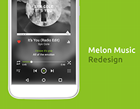 Melon Music App Redesign
