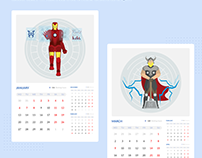 Rhinoda Calendar 2020