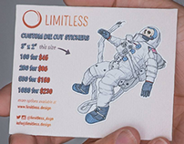 Limitless Banner & Die Cut Ad